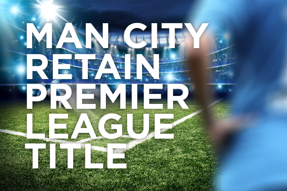 Man City retain Premier League title